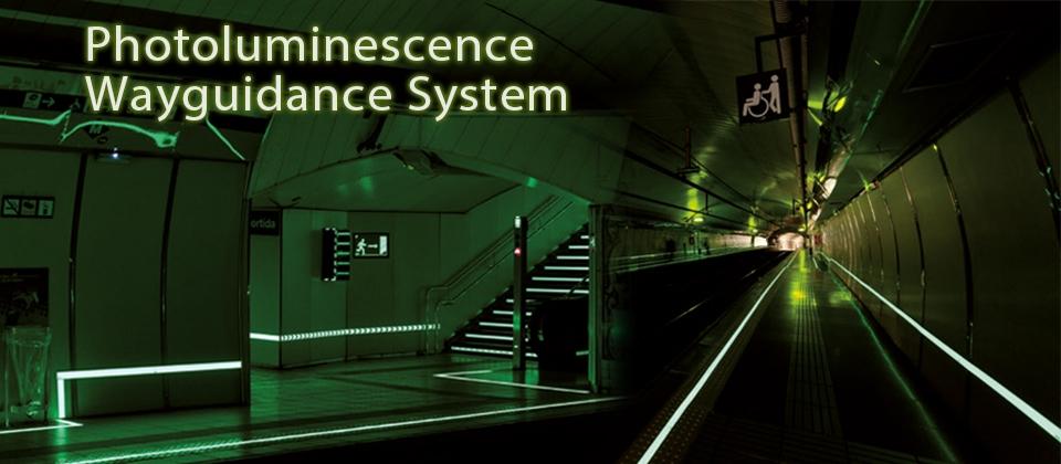 Photoluminescence Wayguidance System