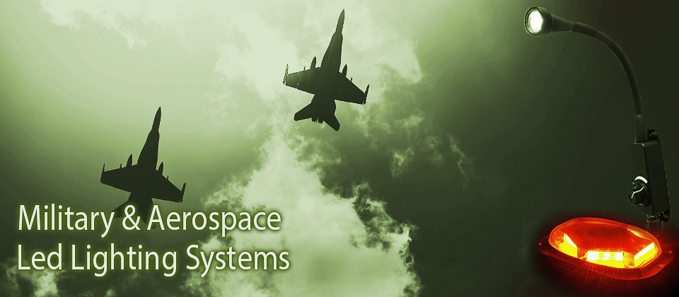 Militay & Aerospace led lighting systems